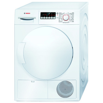 Bosch WTB84200GB 8kg Condenser Tumble Dryer in White Sensor B Energy