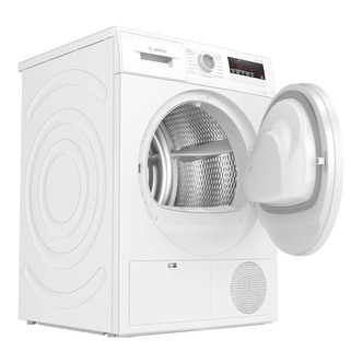 Image of Bosch WTN83201GB 8kg Condenser Dryer in White Sensor B Energy