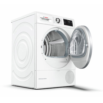 Image of Bosch WTWH7660GB Serie 6 9kg Heat Pump Condenser Dryer White A Rated