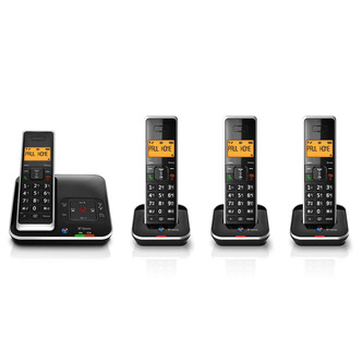 BT XENON 1500 4 Xenon 1500 Quad Phone with Answer Machine