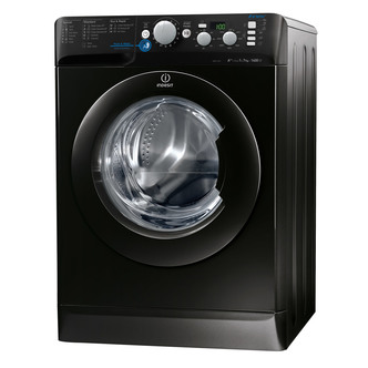 Indesit XWD71452XK INNEX Washing Machine in Black 1400rpm 7kg A AB
