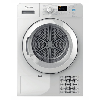 Indesit YTM1071R 7kg Heat Pump Condenser Tumble Dryer in White A Rated