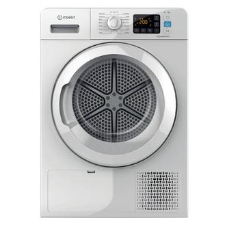 Indesit YTM1182XUK 8kg Heat Pump Condenser Tumble Dryer in White A Rat
