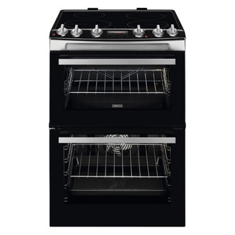 Zanussi ZCI66278XA 60cm Electric Cooker in St Steel D Oven Induction H
