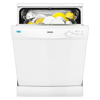 Zanussi ZDF21001WA 60cm Dishwasher in White 13 Place A AA Rated