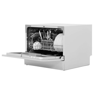 Zanussi ZDM17301SA Table Top Dishwasher in Silver 6 Place Settings F R