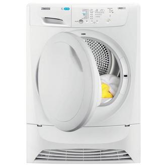 Zanussi ZDP7206PZ 7kg Condenser Tumble Dryer in White B Energy