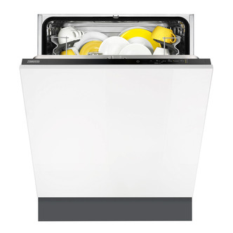 Zanussi ZDT21002FA 60cm Built In Dishwasher 13 Place Setting A Rated