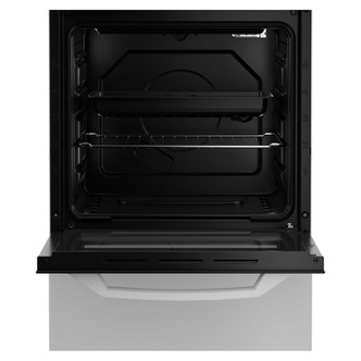 Zenith ZE501W 50cm Gas Cooker in White Single Oven