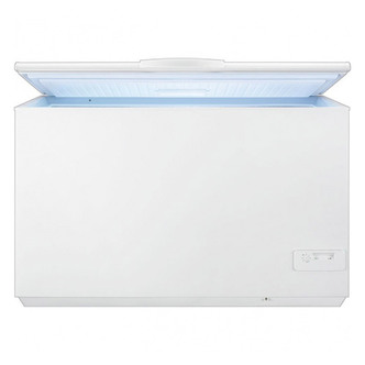 Zanussi ZFC41400WA Chest Freezer in White 400 Litre 3 Basket A Rated
