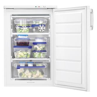 Zanussi ZFT11105WA 55cm Under Counter Freezer in White 91L A Rated