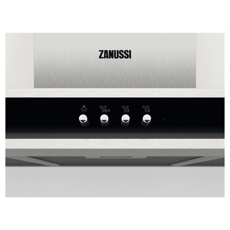 Image of Zanussi ZFT516X 60cm Chimney Hood in St Steel 3 Speed Settings