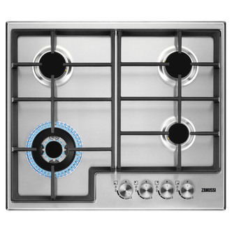 Zanussi ZGH66424XX 60cm Built In Gas Hob in Stainless Steel