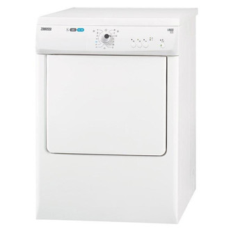 Zanussi ZTE7101PZ 7kg Vented Tumble Dryer in White C Rated