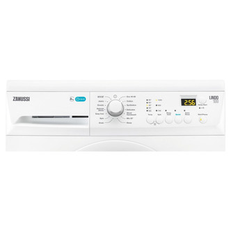 Image of Zanussi ZWF81243NW LINDO100 Washing Machine in White 1200rpm 8kg A