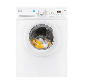 Image of Zanussi ZWF81443W Washing Machine in White 1400rpm 8kg A Rated