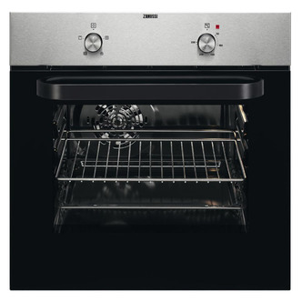 Zanussi ZZB30401XK 5 Functions Electric Built-in Single Oven - Anti-fingerprint Stainless Steel