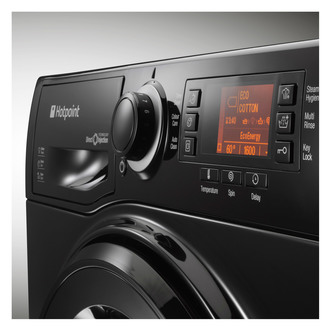 Hotpoint RPD10457JKK ULTIMA S Washing Machine in Black 1400rpm 10kg St