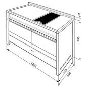 Smeg A4BL-8 Opera 120cm Dual Fuel Range Cooker - Black 60890