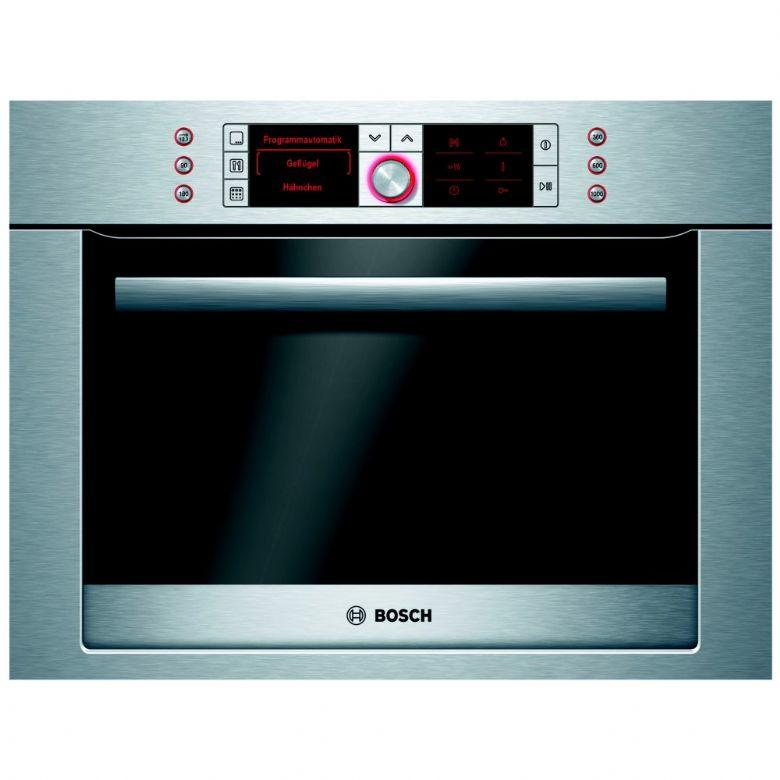 Bosch hbc86p753b built in compact oven with microwave in for Small built in microwave oven