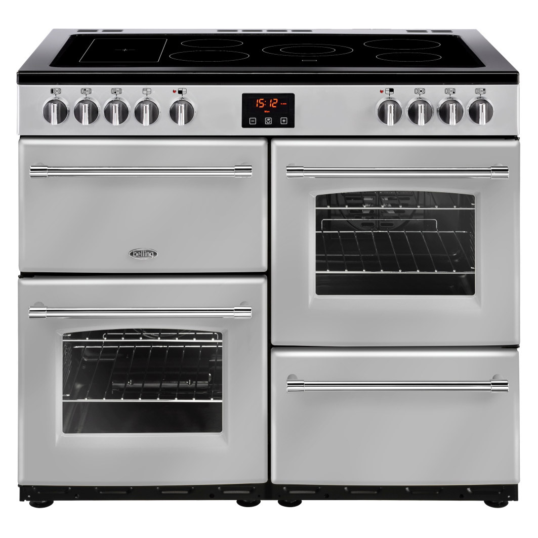 belling 444444137 farmhouse 100e 100cm electric range cooker in silver rh sonicdirect co uk belling oven installation manual belling gas oven installation instructions