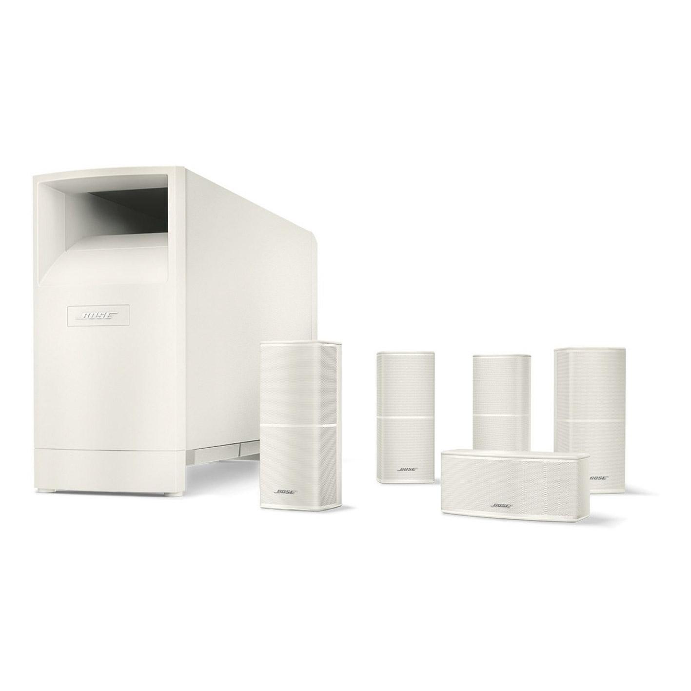 Bose Am10 V Wht Acoustimass 10 Series Cinema Speaker System In White Wiring