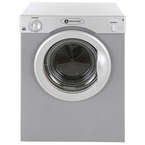 Small Tumble Dryer ~ White knight c as kg compact vented tumble dryer in