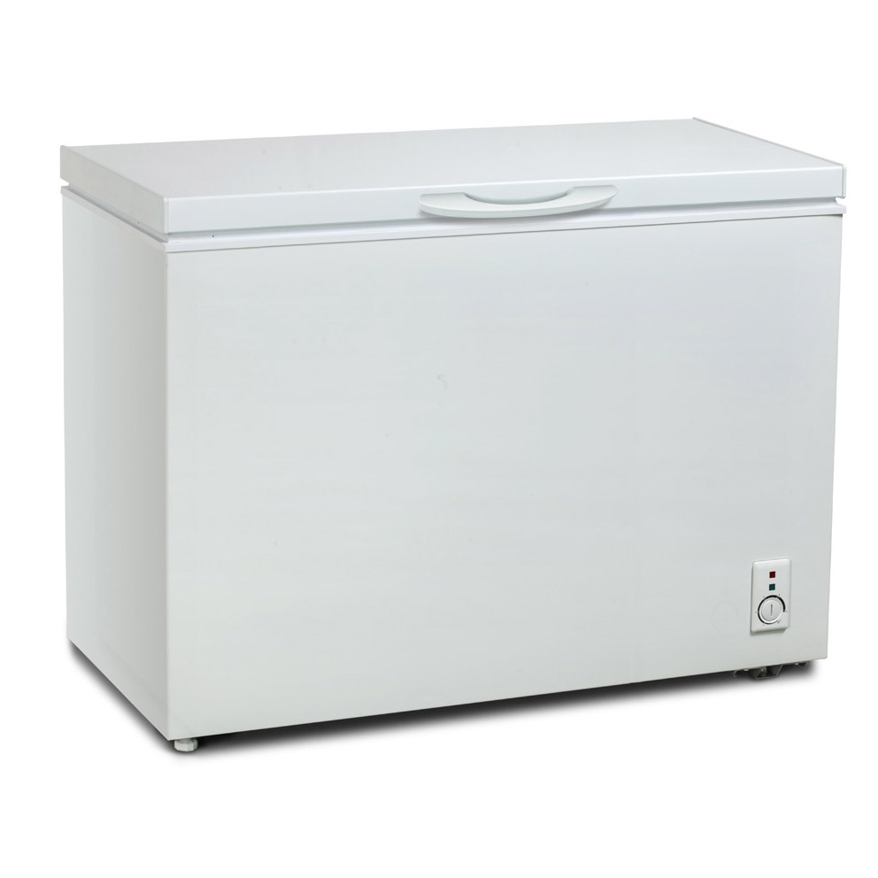 mini deep freezer iceking cf300w 112cm chest freezer in white 300 litre 0 29061