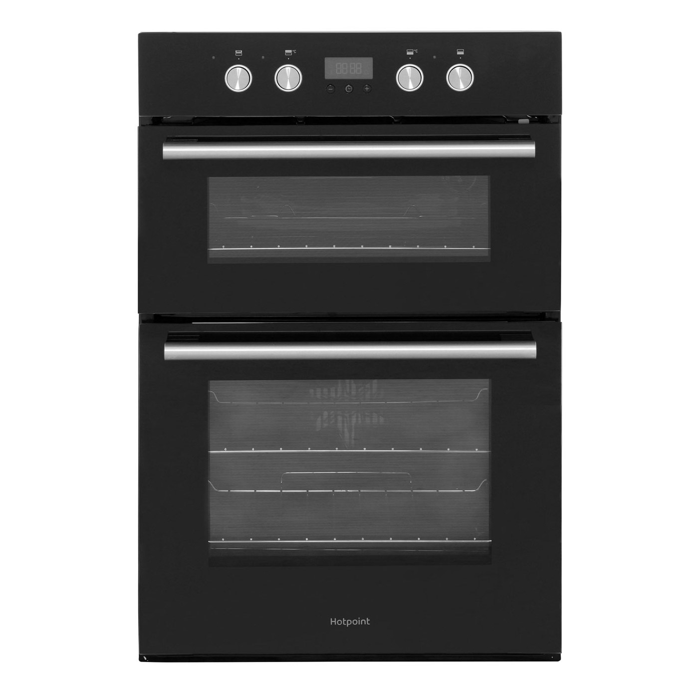 Hotpoint Dd2844cbl Built In Electric Double Oven In Black