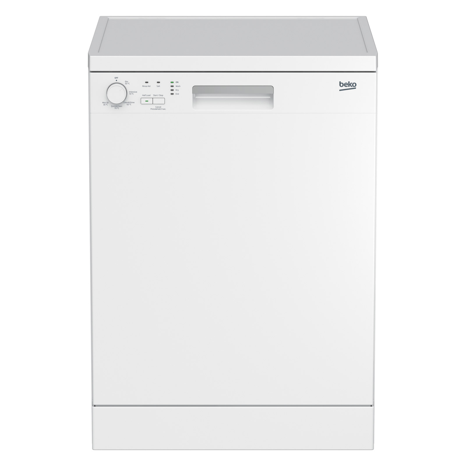 1039c6da8c8 Beko DFN05X10W 60cm Dishwasher in White, 12 Place Setting A+ Rated
