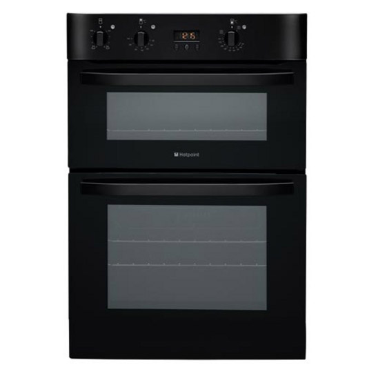 Oven Liners For Electric Ovens ~ Hotpoint dhs cks built in electric double oven black