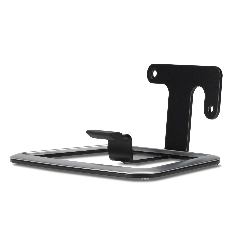 flexson flxp3ds1021 desk stand for sonos play 3 speaker in black single. Black Bedroom Furniture Sets. Home Design Ideas