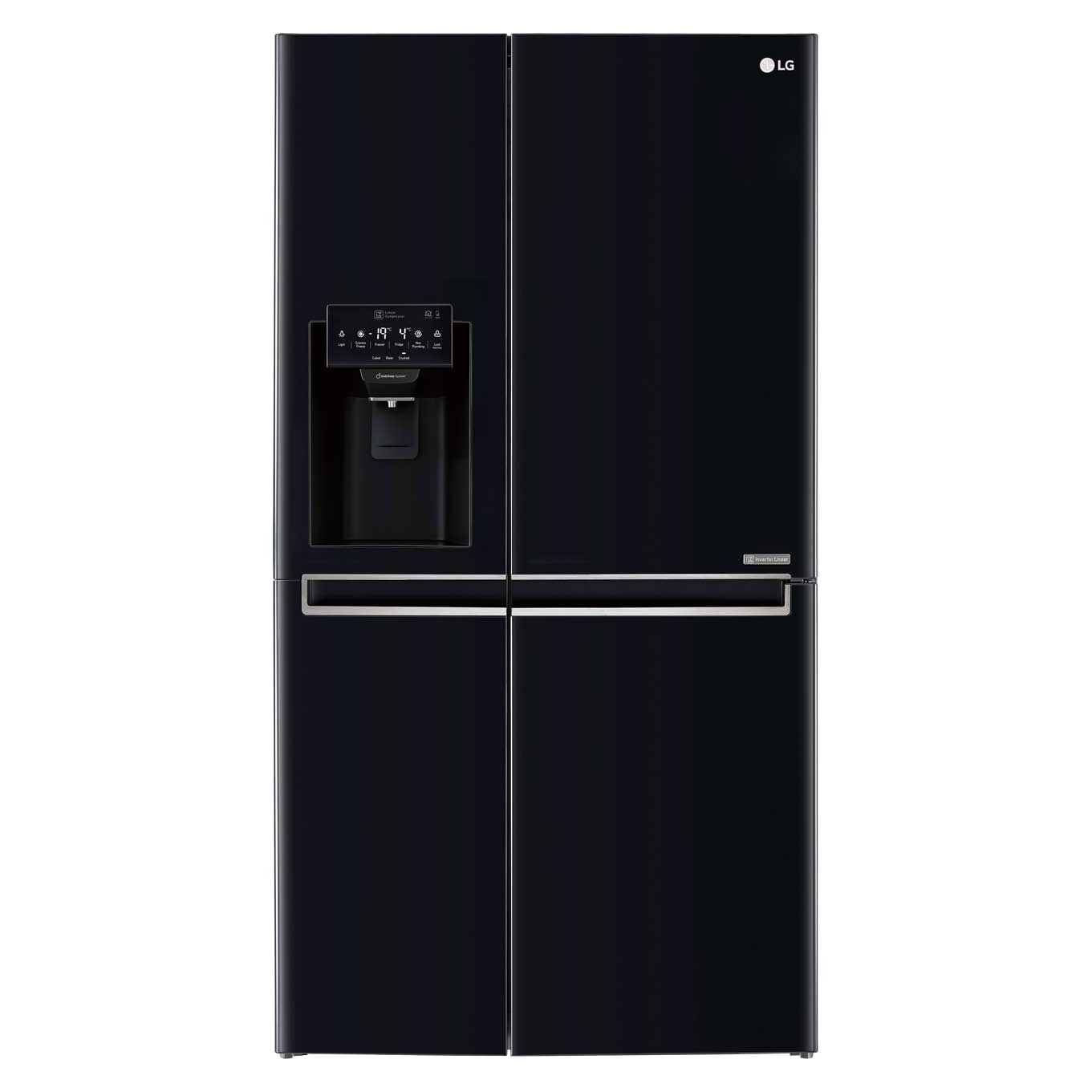 LG GSL761WBXV American Fridge Freezer in Black, Ice + Water A+ Rated