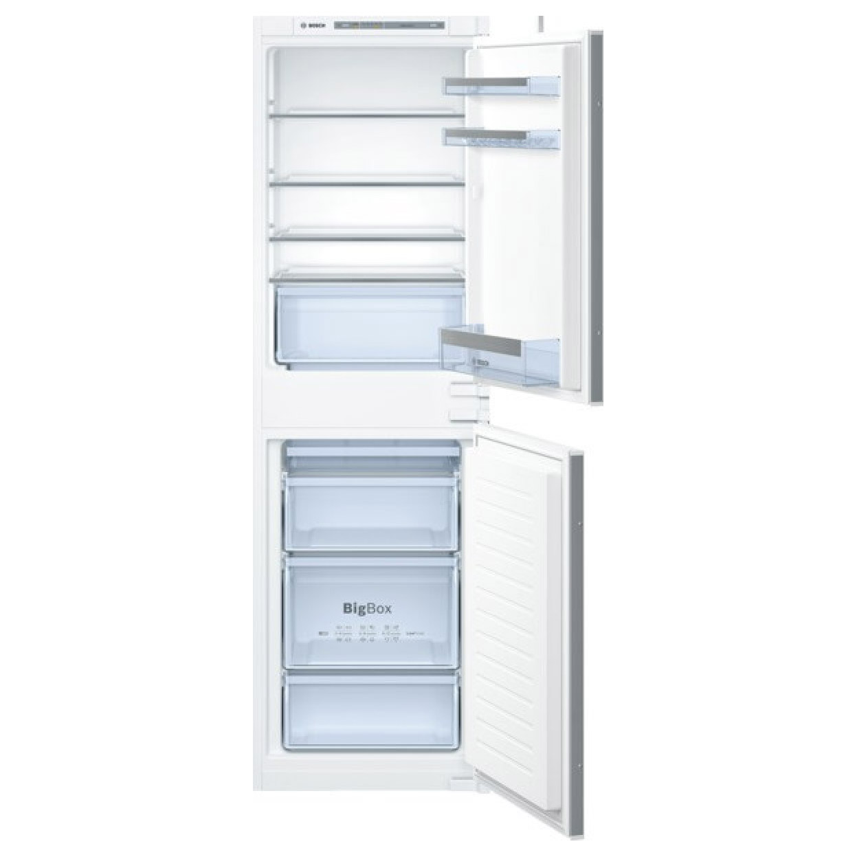 bosch kiv85vs30g fully integrated low frost fridge freezer 50 50. Black Bedroom Furniture Sets. Home Design Ideas