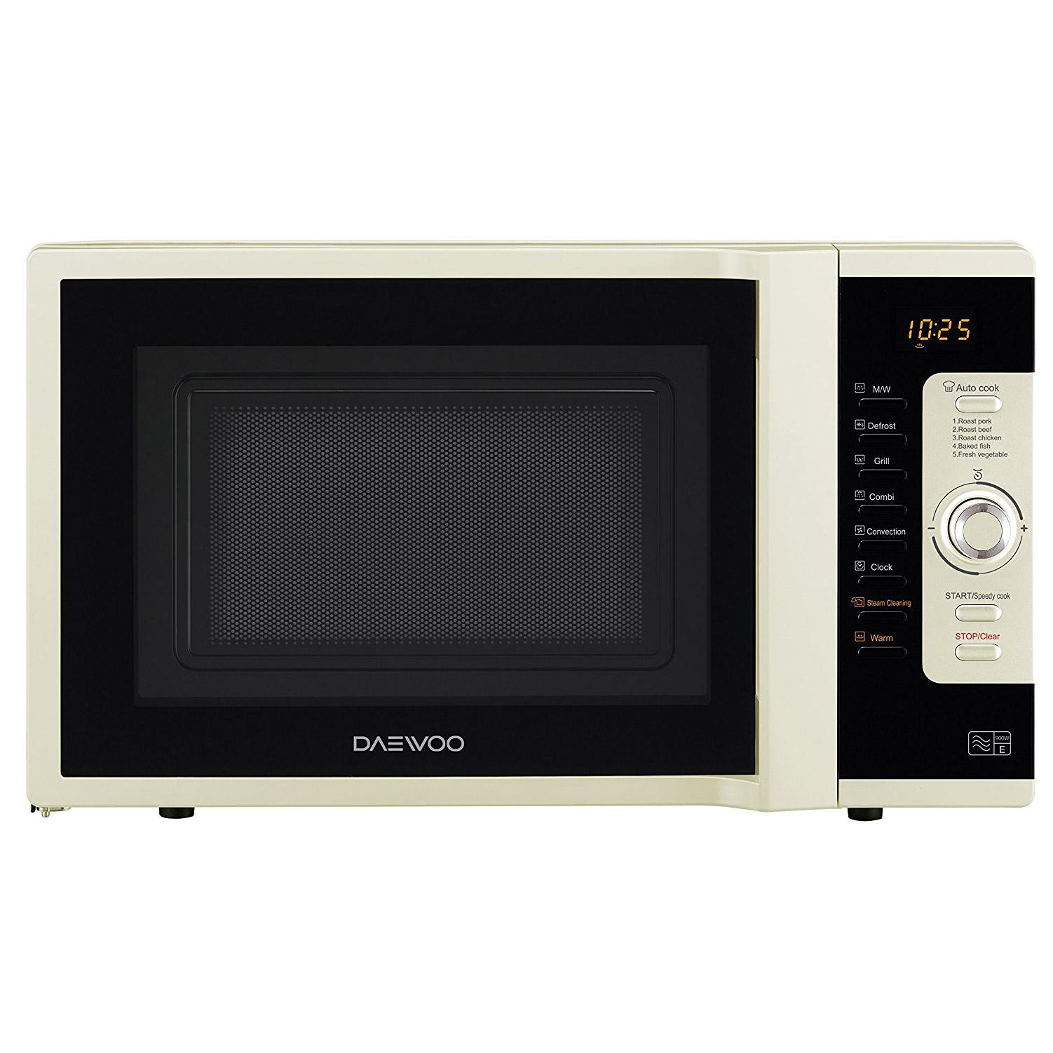 daewoo koc9c0tc combination microwave oven in cream 28l 900w rh sonicdirect co uk daewoo dc microwave oven manual daewoo microwave oven manual