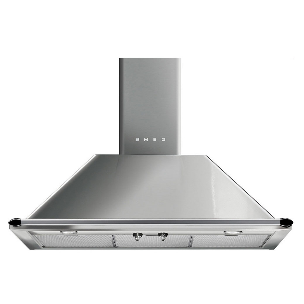 Smeg Ktr90xe 90cm Victoria Range Cooker Hood In Stainless Steel Freestanding Electric Oven Stove Winning