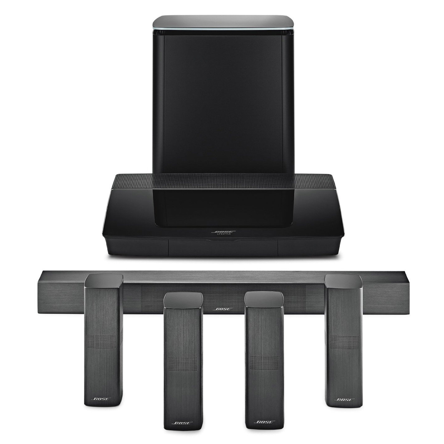 Bose LS 650 BLK Lifestyle 650 Home Entertainment System in Black