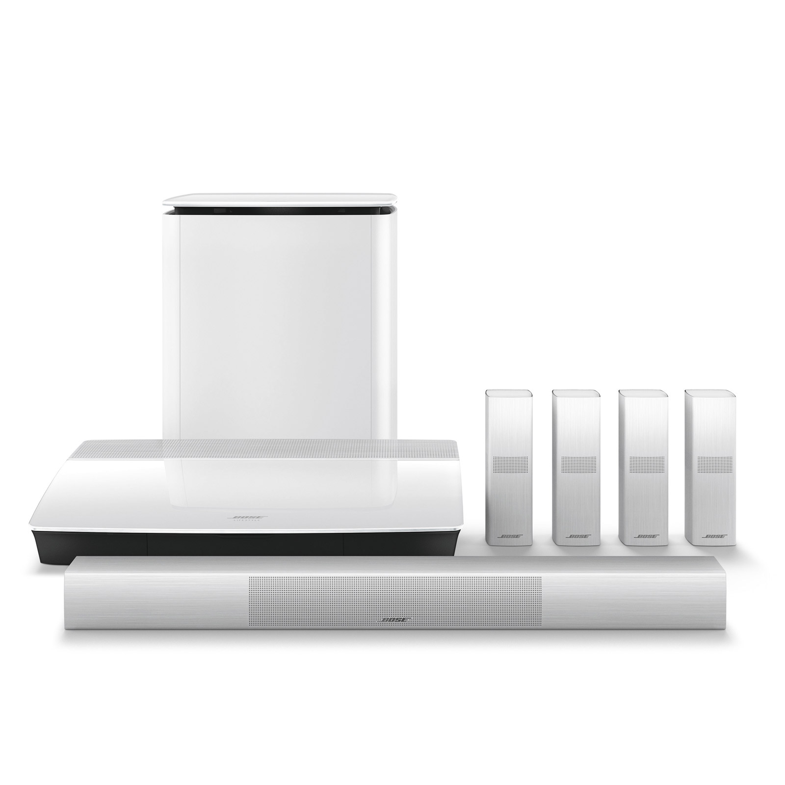 Bose LS 650 WHT Lifestyle 650 Home Entertainment System in White