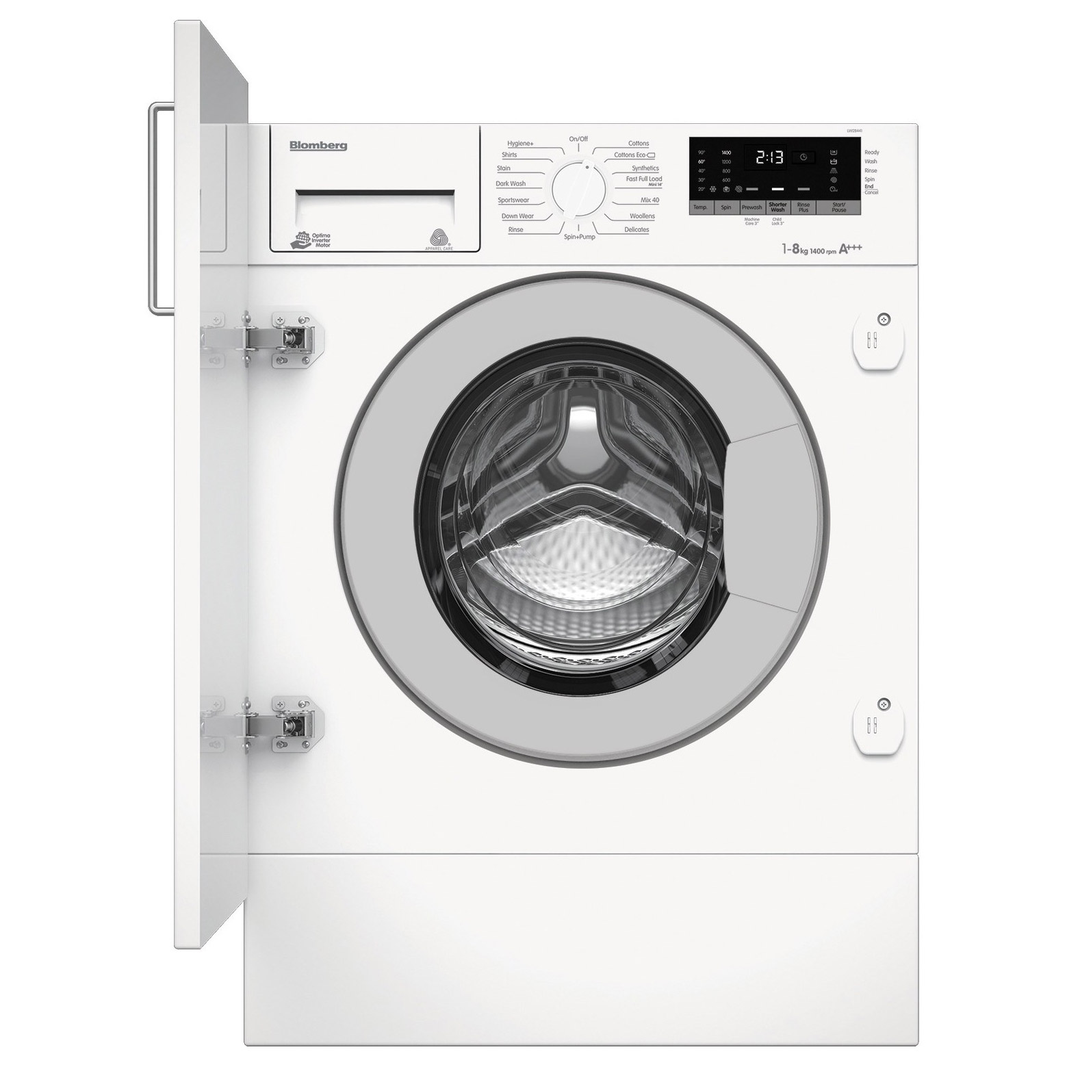 Blomberg LWI28441 Integrated Washing Machine, 1400rpm 8kg A+++ Rated