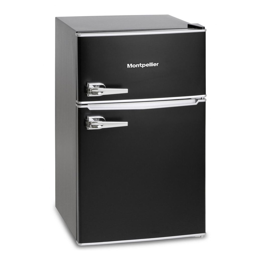 Counter Fridge Montpellier Mab2030k Under Counter Retro Style Fridge Freezer In