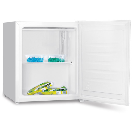 Fridgemaster mttz4430 table top freezer in white 4 star for Table top freezer