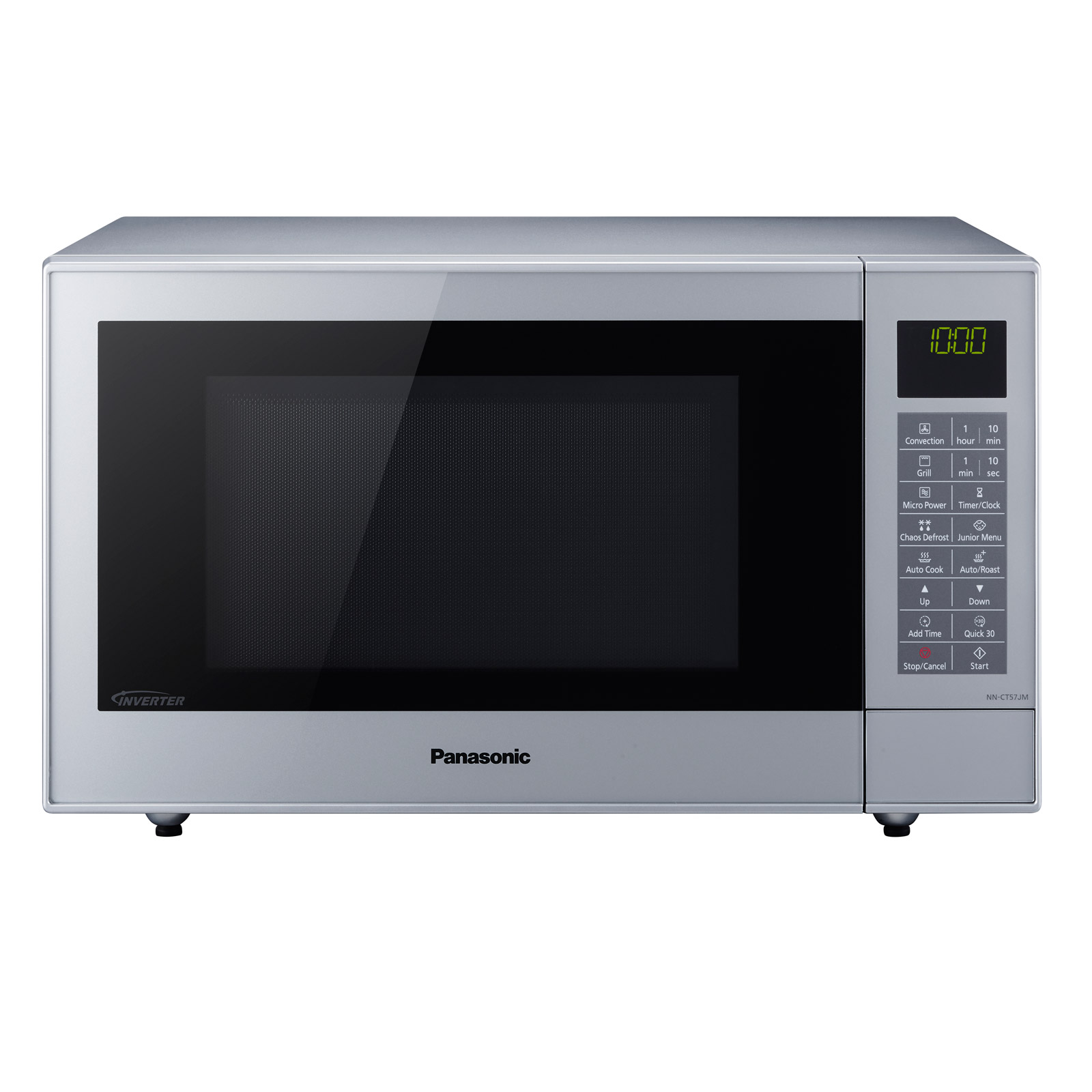 panasonic nn ct57jmbpq combination microwave oven in silver 27 rh sonicdirect co uk Panasonic Genius Inverter Microwave Panasonic Genius Inverter Microwave
