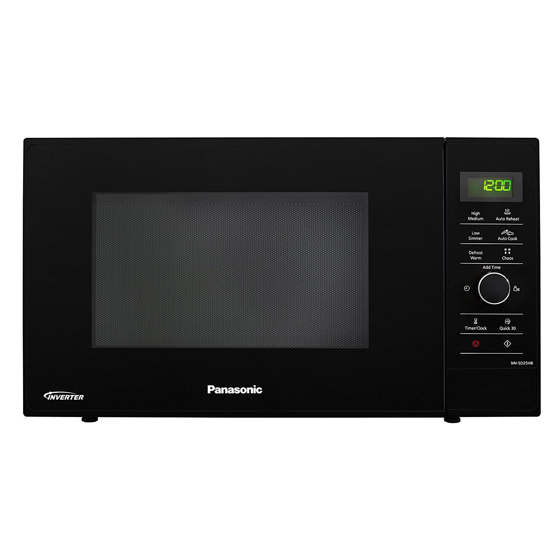 panasonic nn sd25hbbpq solo inverter microwave oven in black 22l 1000w rh sonicdirect co uk Panasonic Inverter Microwave Problems Panasonic Inverter Microwave 1250-Watt