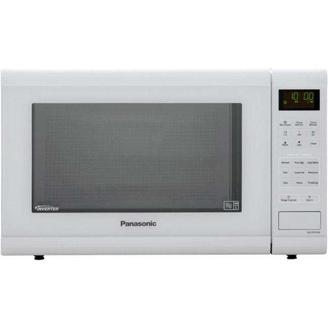 panasonic nn st452wbpq solo sensor inverter microwave oven in white rh sonicdirect co uk Panasonic Inverter Microwave Problems Manual for Panasonic Microwave