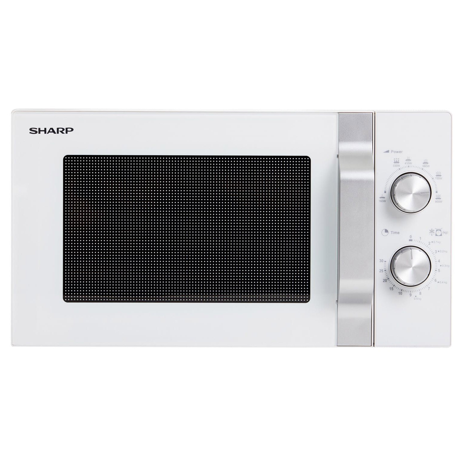 Sharp R204wm Compact Microwave Oven In White 20l 800w Manual