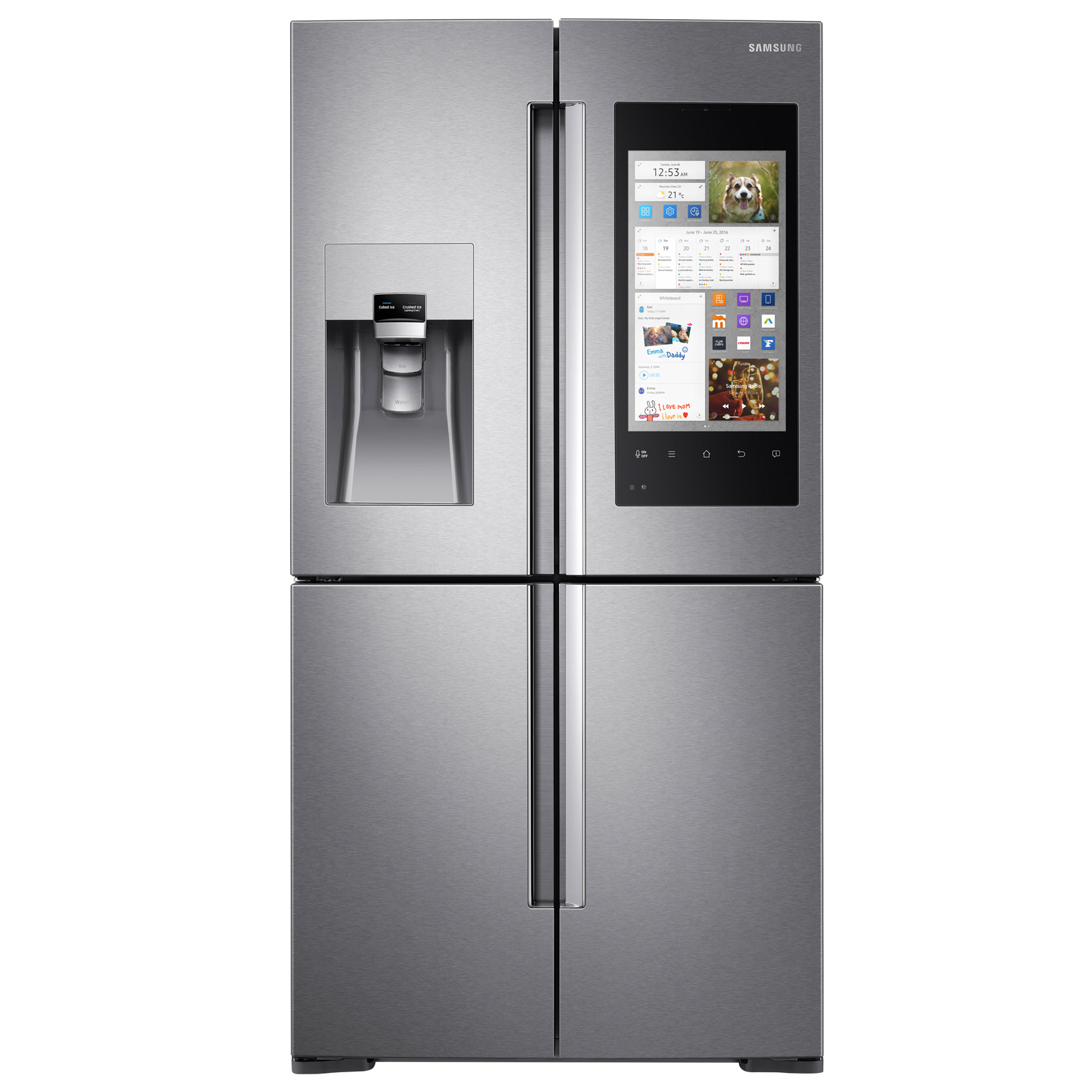 Samsung Rf56m9540sr Family Hub Multi Door Fridge Freezer