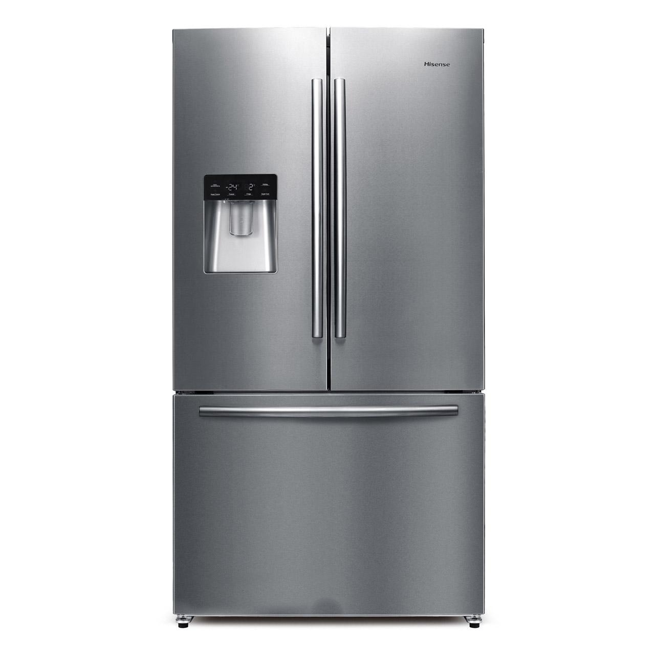 Hisense Rf697n4zs1 American Fridge Freezer With French