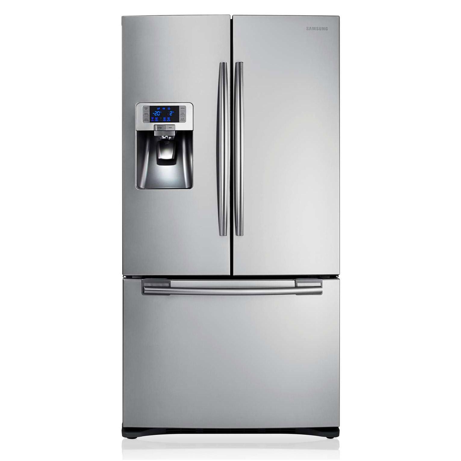 649bd71c9770 Samsung RFG23UERS French Style Fridge Freezer in St/Steel, I&W 1.8m A+