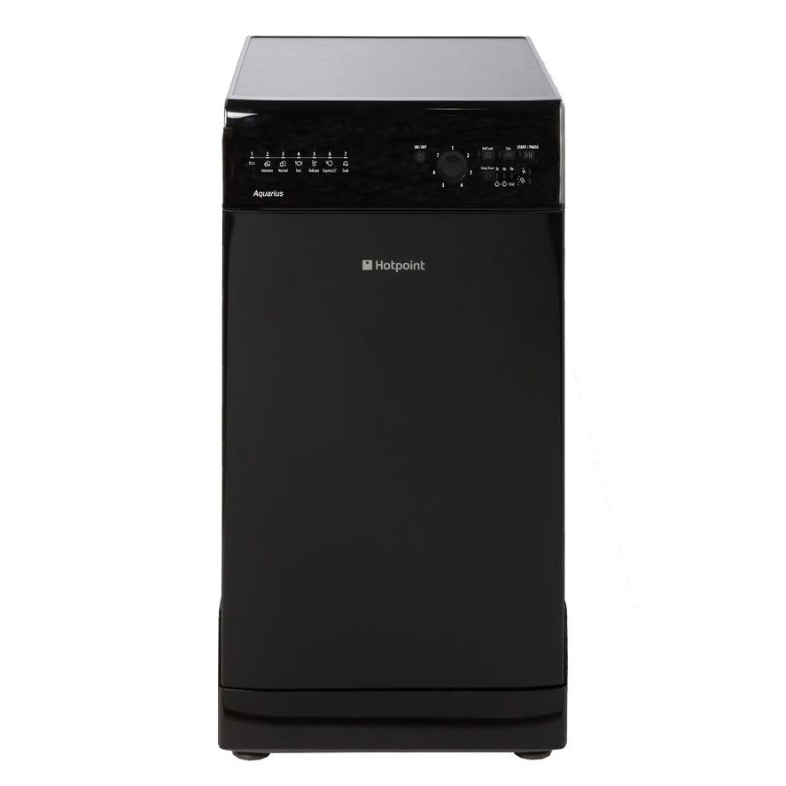 hotpoint sial11010k 45cm aquarius slimline dishwasher in. Black Bedroom Furniture Sets. Home Design Ideas