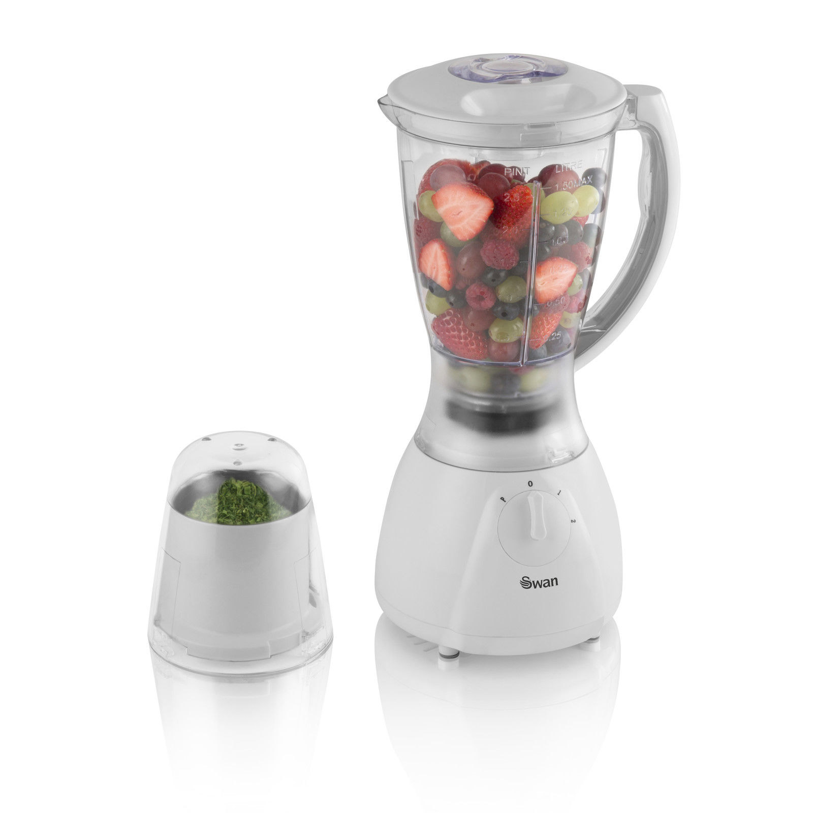 Swan SP26050N 400W Blender & Grinder in White